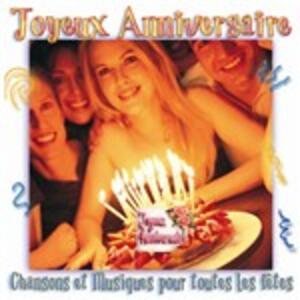 Joyeux Anniversaire - CD Audio