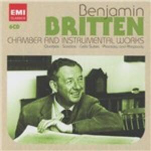 Musica da camera e strumentale - CD Audio di Benjamin Britten