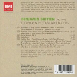 Musica da camera e strumentale - CD Audio di Benjamin Britten - 2