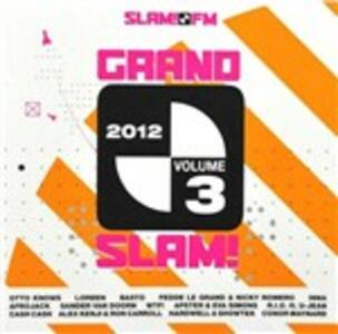 Grand Slam 2012 vol.3 - CD Audio