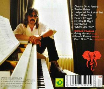 Before I Forget - CD Audio di Jon Lord - 2