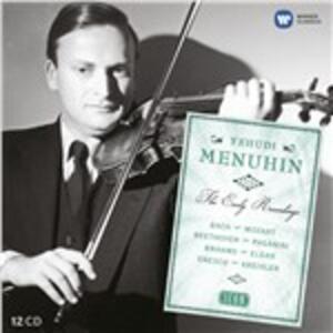 Icon. Yehudi Menuhin. The Early Years - CD Audio di Yehudi Menuhin