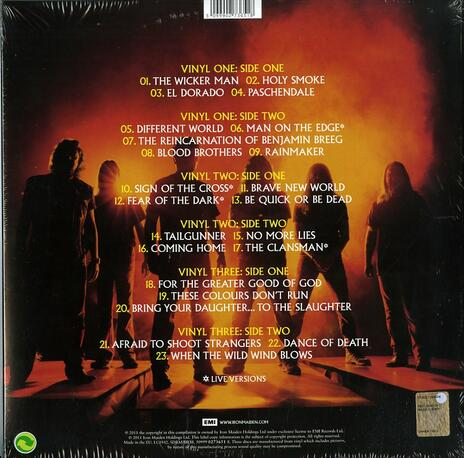 From Fear to Eternity. The Best of 1990-2010 - Vinile LP di Iron Maiden - 2
