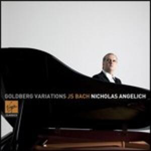 Variazioni Goldberg - CD Audio di Johann Sebastian Bach,Nicholas Angelich