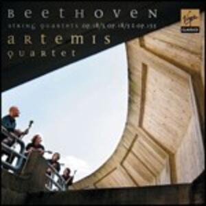 Quartetti per archi op.18 n.5, op.18 n.3, op.135 n.9 - CD Audio di Ludwig van Beethoven,Artemis Quartet