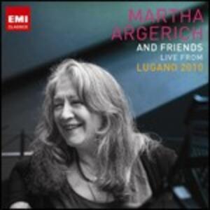 Live from Lugano Festival 2010 - CD Audio di Martha Argerich