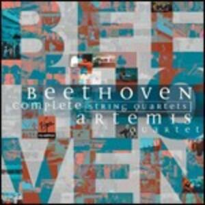 Quartetti per archi completi - CD Audio di Ludwig van Beethoven,Artemis Quartet