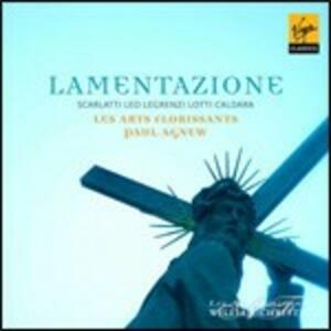 Lamentazione - CD Audio di Les Arts Florissants,Paul Agnew