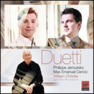 Duetti - CD Audio di William Christie,Les Arts Florissants,Philippe Jaroussky,Max Emmanuel Cencic