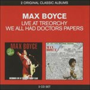 Live at Treorchy. We All - CD Audio di Max Boyce