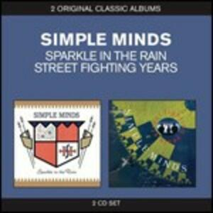 Sparkle in the Rain / Street Fighting Years - CD Audio di Simple Minds
