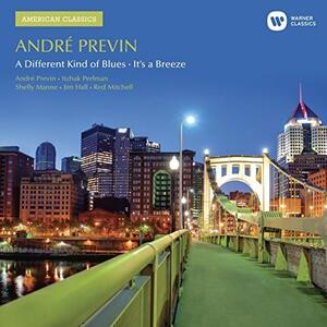 A Different Kind of Blue - CD Audio di André Previn