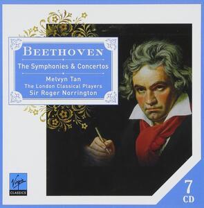 Sinfonie - Concerti - CD Audio di Ludwig van Beethoven,Roger Norrington,London Classical Players,Melvyn Tan