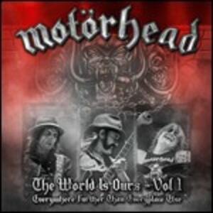 The Wörld Is Ours vol.1: Everywhere Further Than Everyplace Else - CD Audio + DVD di Motorhead