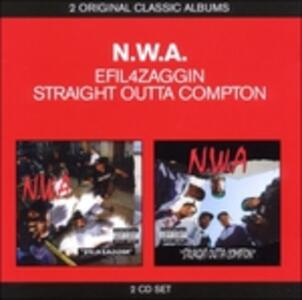 Efil4zaggin - Straight Outta Compton - CD Audio di NWA