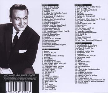 Singer's Singer - CD Audio di Matt Monro - 2