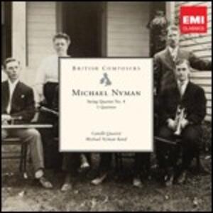 Quartetto per archi n.4 - 3 Quartetti - CD Audio di Michael Nyman