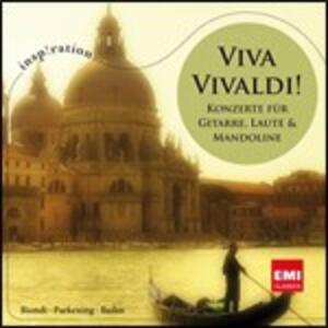 Viva Vivaldi! Concerti per chitarra, liuto e mandolino - CD Audio di Antonio Vivaldi,Fabio Biondi,Christopher Parkening