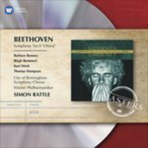 Sinfonia n.9 - CD Audio di Ludwig van Beethoven,Simon Rattle,Wiener Philharmoniker