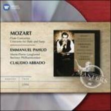 Concerto per flauto e arpa - Concerto per flauto n.1 - CD Audio di Wolfgang Amadeus Mozart,Claudio Abbado,Berliner Philharmoniker,Emmanuel Pahud