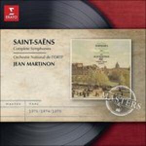 Sinfonie n.1, n.2, n.3 - CD Audio di Camille Saint-Saëns,Jean Martinon