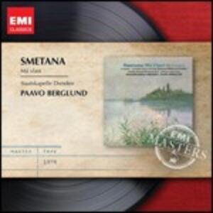 La mia patria (Ma Vlast) - CD Audio di Bedrich Smetana,Paavo Berglund