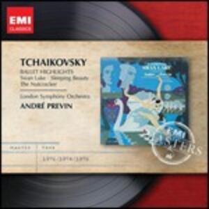 Balletti - CD Audio di Pyotr Il'yich Tchaikovsky,André Previn,London Symphony Orchestra