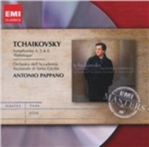 Sinfonie n.4, n.5, n.6 - CD Audio di Pyotr Il'yich Tchaikovsky,Antonio Pappano,Orchestra dell'Accademia di Santa Cecilia
