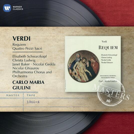 Requiem - CD Audio di Giuseppe Verdi,Nicolai Gedda,Christa Ludwig,Nicolai Ghiaurov,Elisabeth Schwarzkopf,Carlo Maria Giulini,Philharmonia Orchestra