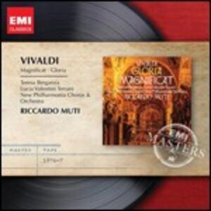 Gloria - Magnificat - CD Audio di Antonio Vivaldi,Teresa Berganza,Lucia Valentini Terrani,Riccardo Muti,New Philharmonia Orchestra