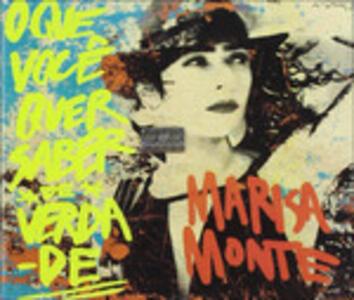 O Que Voce Quer Saber - CD Audio di Marisa Monte