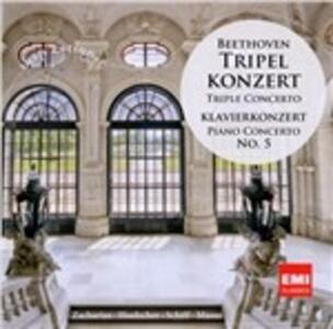 Tripel Konzert - CD Audio di Ludwig van Beethoven