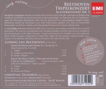 Tripel Konzert - CD Audio di Ludwig van Beethoven - 2