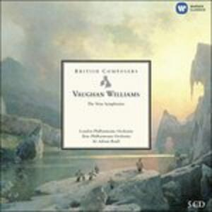 Sinfonie - CD Audio di Ralph Vaughan Williams,Sir Adrian Boult,London Philharmonic Orchestra,New Philharmonia Orchestra