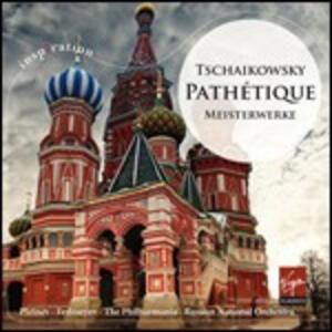 Pathetique. Capolavori sinfonici - CD Audio di Pyotr Il'yich Tchaikovsky