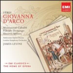 Giovanna d'Arco - CD Audio di Montserrat Caballé,Placido Domingo,Giuseppe Verdi,James Levine,London Symphony Orchestra