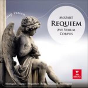 Requiem - Ave Verum Corpus - CD Audio di Wolfgang Amadeus Mozart