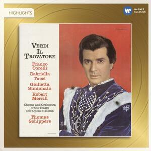 Il Trovatore - CD Audio di Giuseppe Verdi,Thomas Schippers