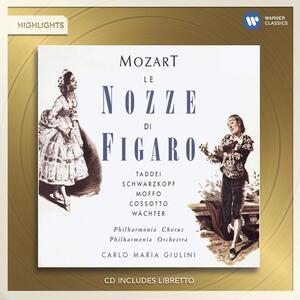 Le Nozze di Figaro - CD Audio di Wolfgang Amadeus Mozart,Carlo Maria Giulini
