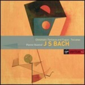 Fantasia cromatica e fuga - Toccate - CD Audio di Johann Sebastian Bach,Pierre Hantai