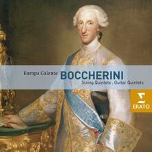 Quintetti per chitarra - Quartetti per archi - CD Audio di Luigi Boccherini,Europa Galante