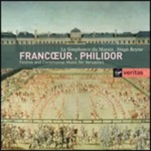 Sinfonie / Marce - CD Audio di François-André Danican Philidor,François Francoeur,Hugo Reyne,Simphonie du Marais