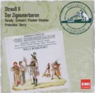 Der Zigeunerbaron - CD Audio di Johann Strauss