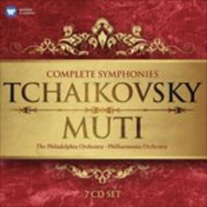 Sinfonie complete - Balletti - CD Audio di Pyotr Il'yich Tchaikovsky,Riccardo Muti,Philadelphia Orchestra,Philharmonia Orchestra