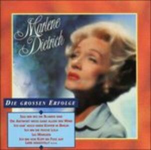 Die Grossen Erfolge - CD Audio di Marlene Dietrich