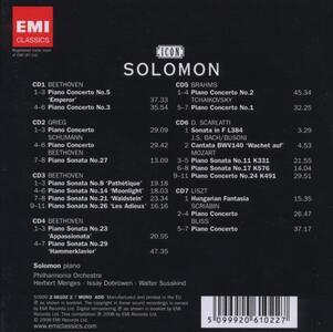 Icon. The Master Pianist - CD Audio di Solomon - 2