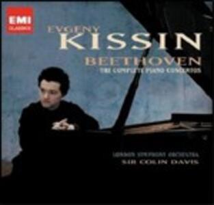 Concerti per pianoforte completi - CD Audio di Ludwig van Beethoven,Sir Colin Davis,Evgeny Kissin,London Symphony Orchestra