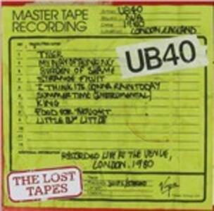 Lost Tapes - CD Audio di UB40