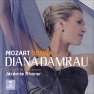 Donna - CD Audio di Wolfgang Amadeus Mozart,Diana Damrau