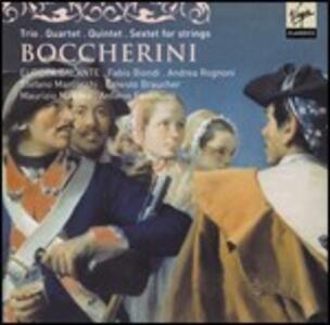 Trio - Quartetto - Quintetto - Sestetto - CD Audio di Luigi Boccherini,Fabio Biondi,Europa Galante